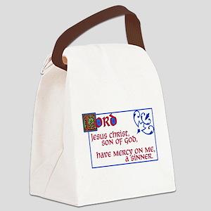 The Jesus Prayer Canvas Lunch Bag