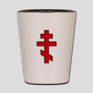 Russian Cross Shot Glass