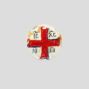 Greek Cross IC XC NIKA Mini Button
