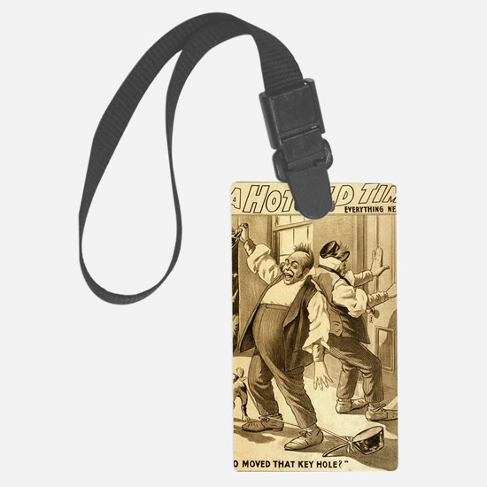 Vintage musical theater Luggage Tag
