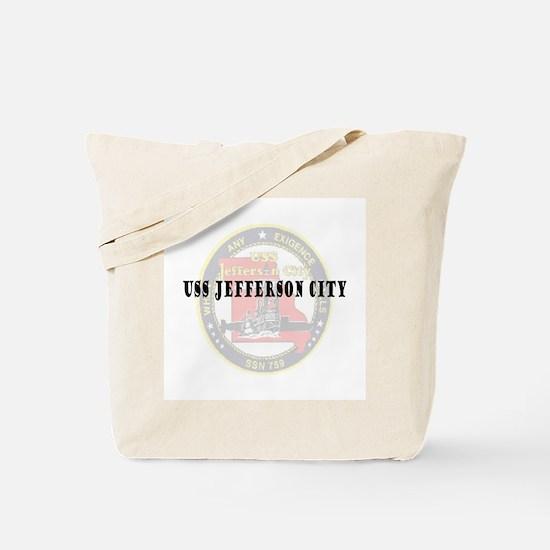 USS Jefferson City Tote Bag
