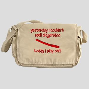 Funny Didgeridoo Messenger Bag