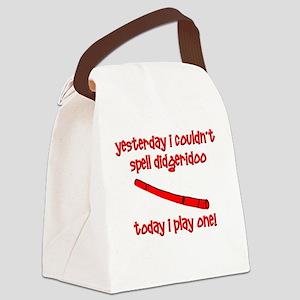 Funny Didgeridoo Canvas Lunch Bag