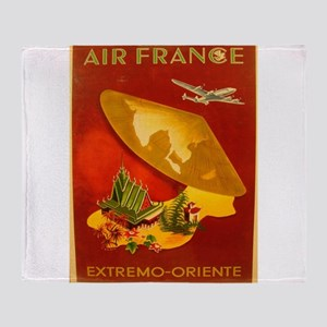 Vintage poster - Extremo-Oriente Throw Blanket