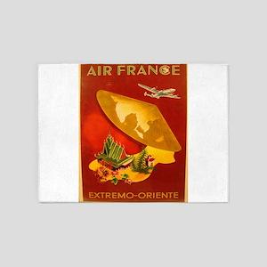 Vintage poster - Extremo-Oriente 5'x7'Area Rug