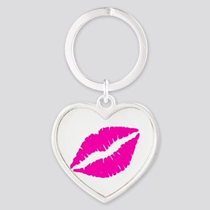 Sexy Pink Lips Kiss Keychains
