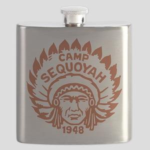 Camp Sequoyah, Sierra Nevada, California Flask