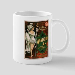Vintage poster - Aladdin Jr. Mugs