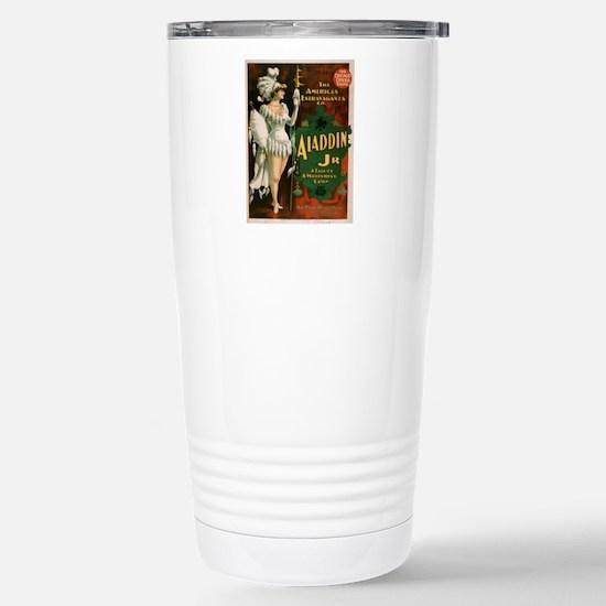 Vintage poster - Aladdi Stainless Steel Travel Mug