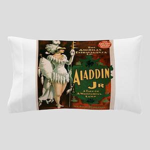 Vintage poster - Aladdin Jr. Pillow Case