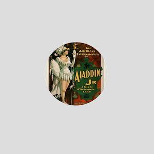 Vintage poster - Aladdin Jr. Mini Button