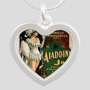 Vintage poster - Aladdin Jr. Necklaces