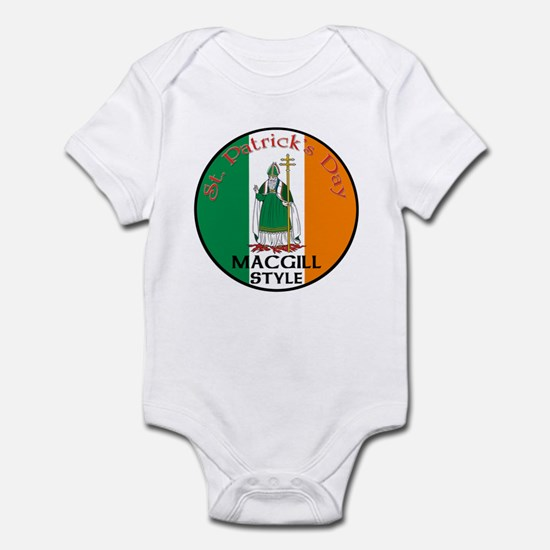 Macgill, St. Patrick's Day Infant Bodysuit
