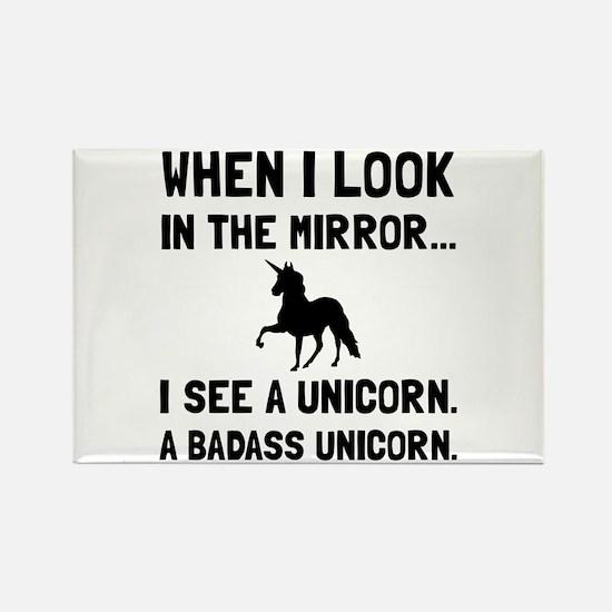 Badass Unicorn Magnets