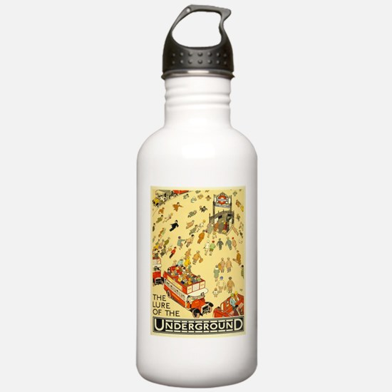 Vintage poster - Londo Water Bottle