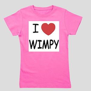 I heart wimpy T-Shirt