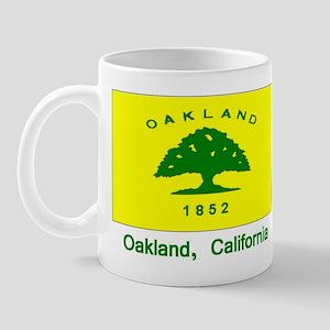 Oakland CA Flag Mug