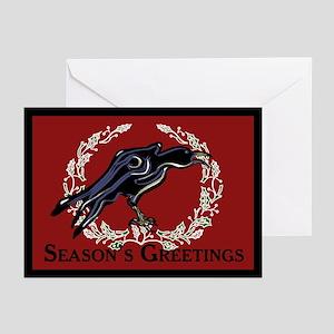 Christmas Crow Greeting Cards (Pk of 20)