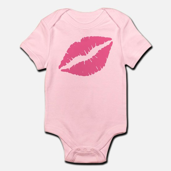 Pink Lips Kiss Body Suit