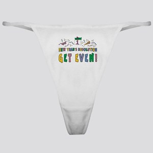 New Year Resolution Classic Thong