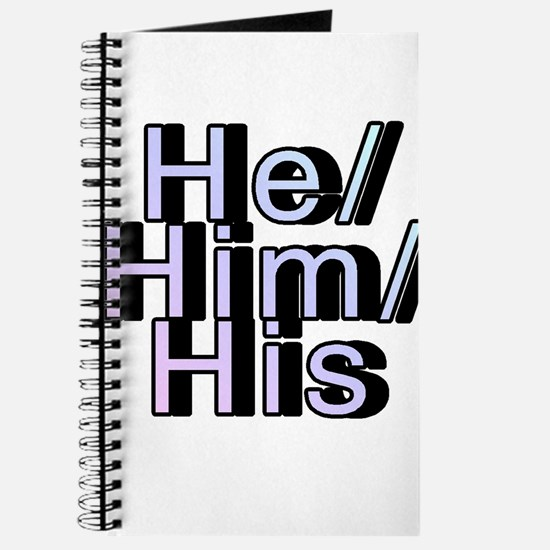 He/Him/His Journal