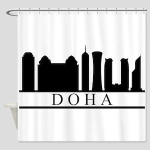 skyline doha Shower Curtain