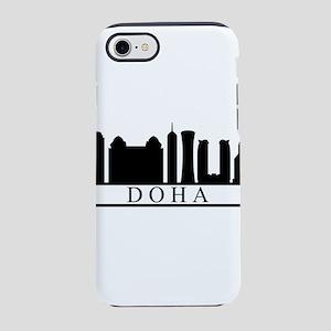 skyline doha iPhone 8/7 Tough Case