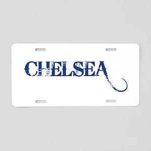 chel3 Aluminum License Plate