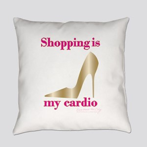 SATC Shopping Is My Cardio Everyday Pillow