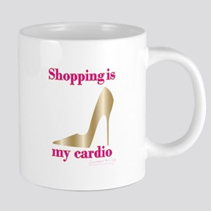 SATC Shopping Is My Cardio 20 oz Ceramic Mega Mug