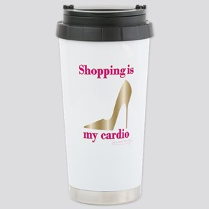 SATC Shopping Is 16 oz Stainless Steel Travel Mug
