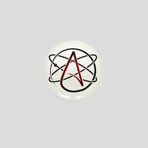 Modern Atheist Atomic Color Mini Button