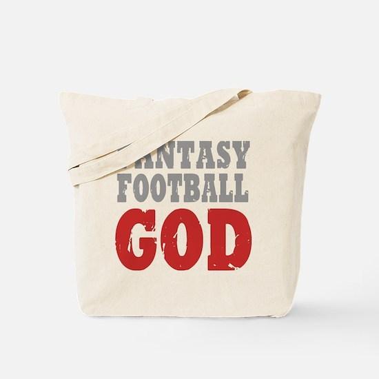 Fantasy Football God Tote Bag