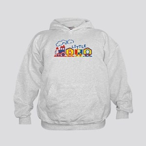 Train Little Bro Kids Hoodie