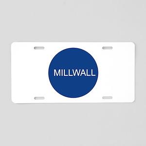 mill4 Aluminum License Plate