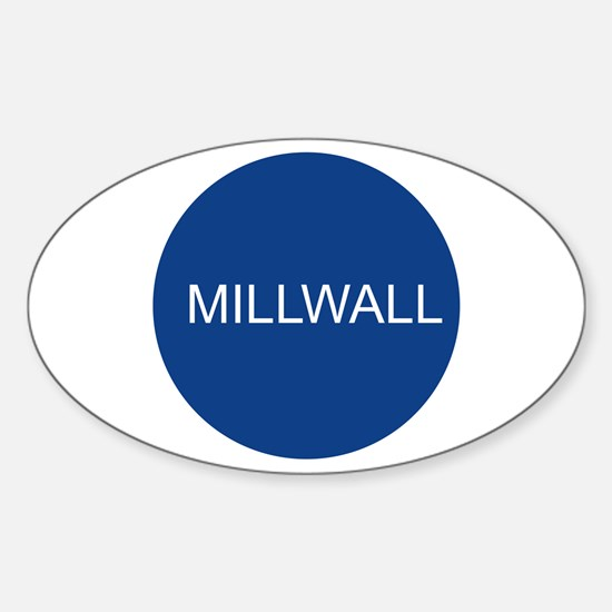 mill4.png Sticker (Oval)
