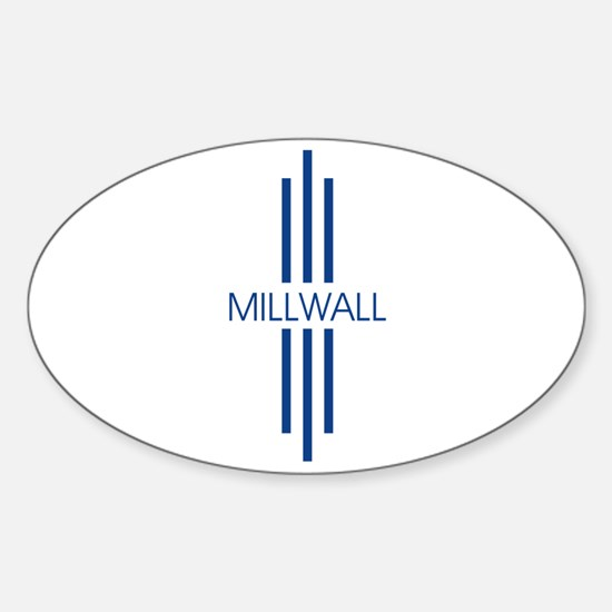 mill5.png Sticker (Oval)