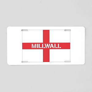mill10 Aluminum License Plate