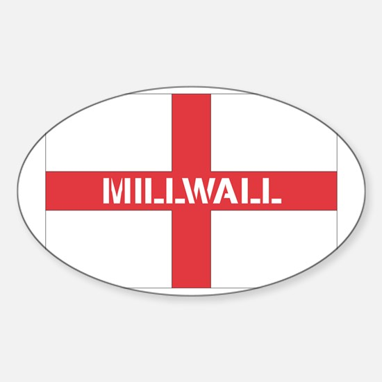 mill10.png Sticker (Oval)