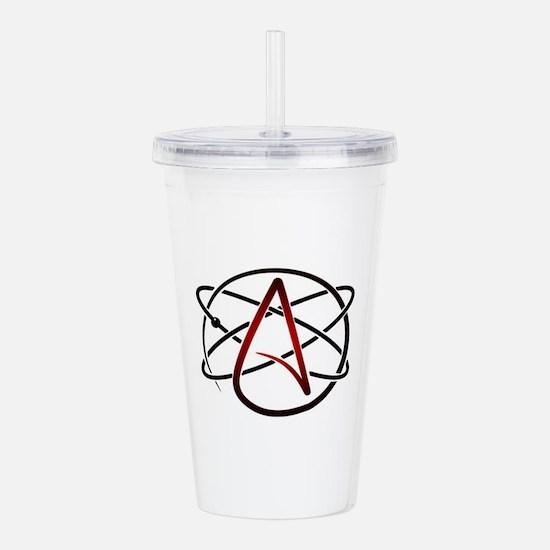 Modern Atheist Atomic Acrylic Double-wall Tumbler