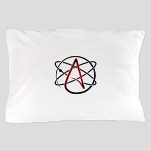 Modern Atheist Atomic Color Pillow Case