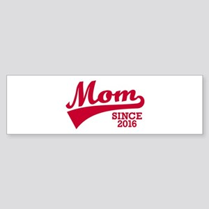 Mom 2016 Sticker (Bumper)
