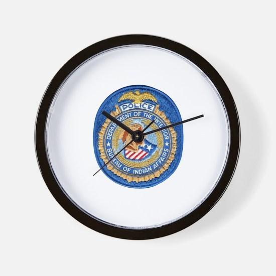 B.I.A. Police Wall Clock