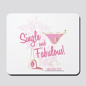 SATC Single and Fabulous Mousepad