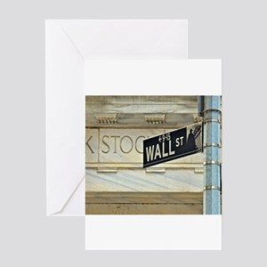 Wall street greeting cards cafepress wall street greeting cards m4hsunfo