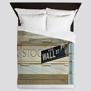 Wall Street! Queen Duvet