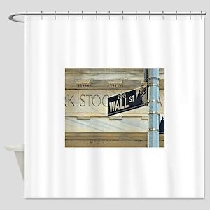 Wall Street! Shower Curtain