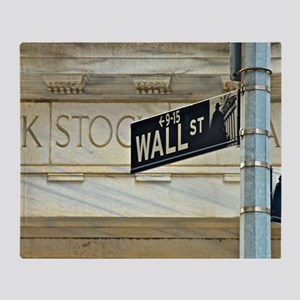Wall Street! Throw Blanket