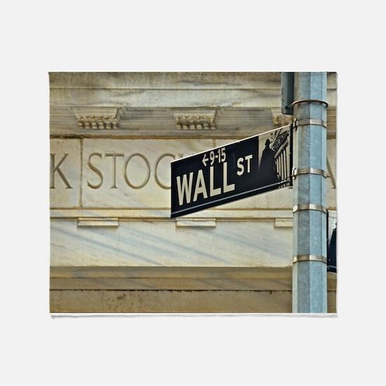 Wall Street! Throw Blanket