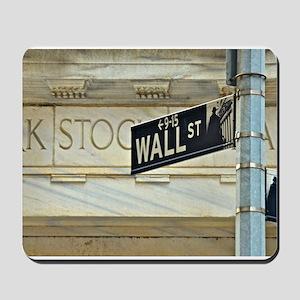 Wall Street! Mousepad